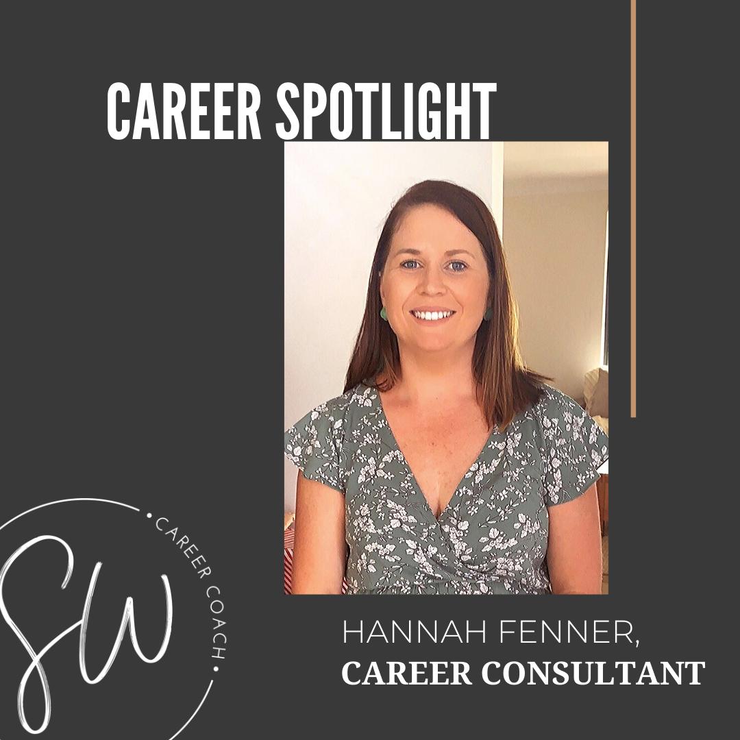 Career Consultant, Hannah Fenner